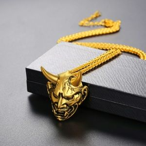 Other - New 18K gold gothic necklace
